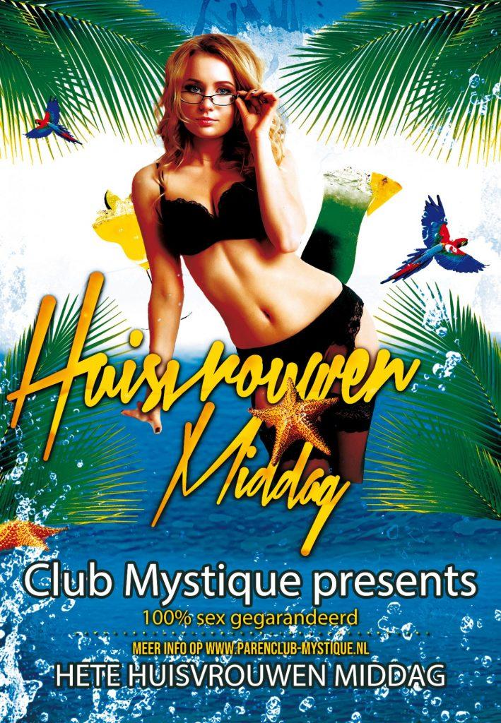 Parenclub Mystique Hete Huisvrouwen Middag