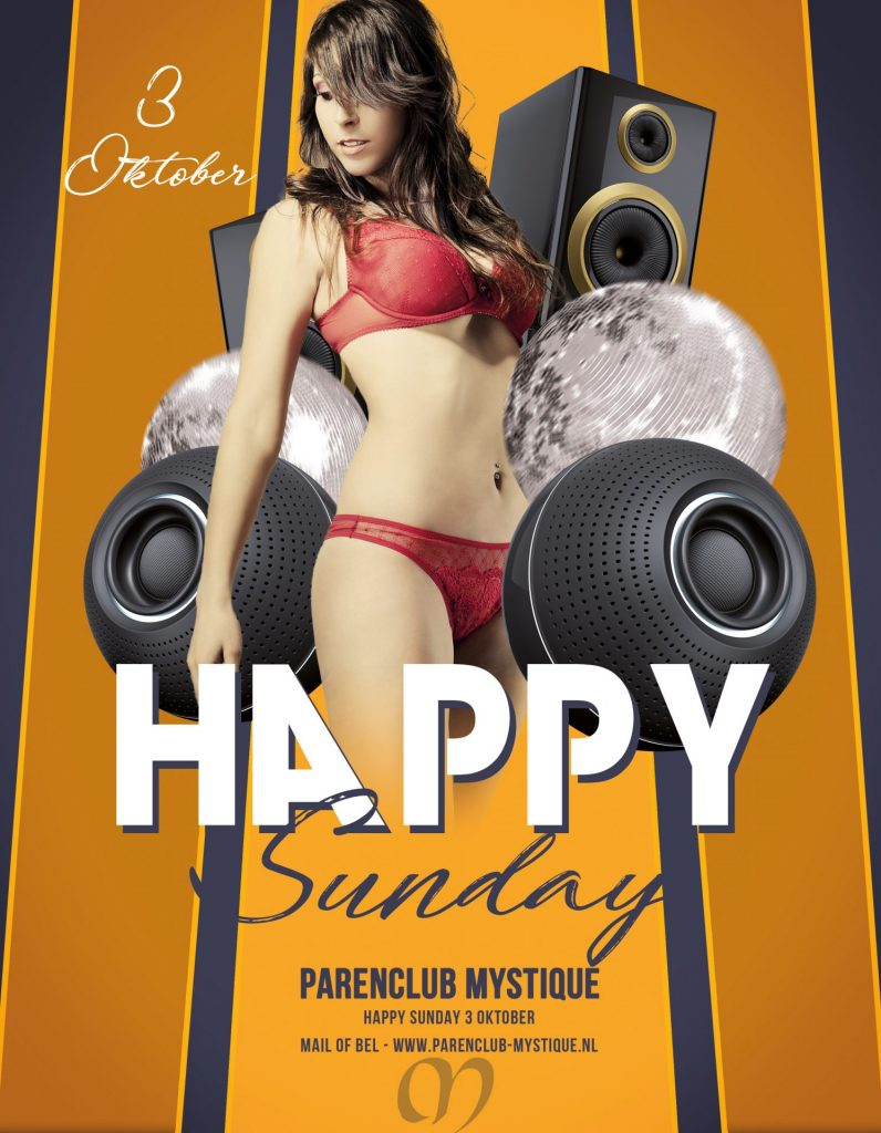 Parenclub Mystique Rucphen Happy Sunday 3 oktober