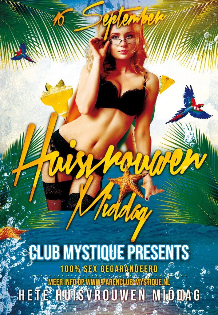 Parenclub Mystique te Rucphen Hete Huisvrouwen Middag 16 september
