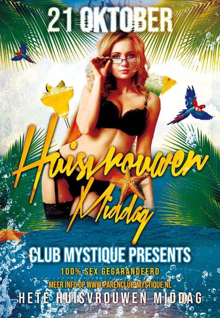Parenclub Mystique Rucphen Hete Huisvrouwen Middag 21 Oktober