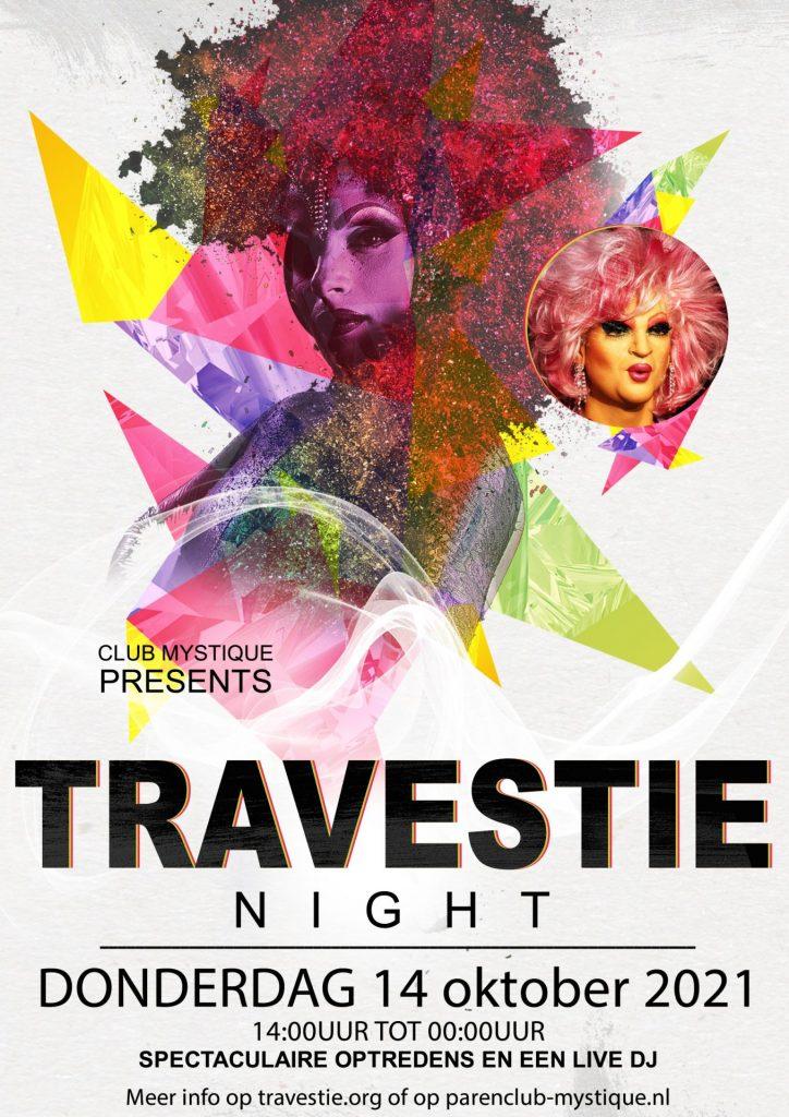 Parenclub Mystique Rucphen Travestie Night 14 oktober