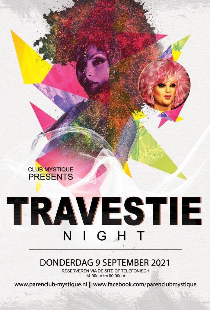 Parenclub Mystique Rucphen Travestie Night