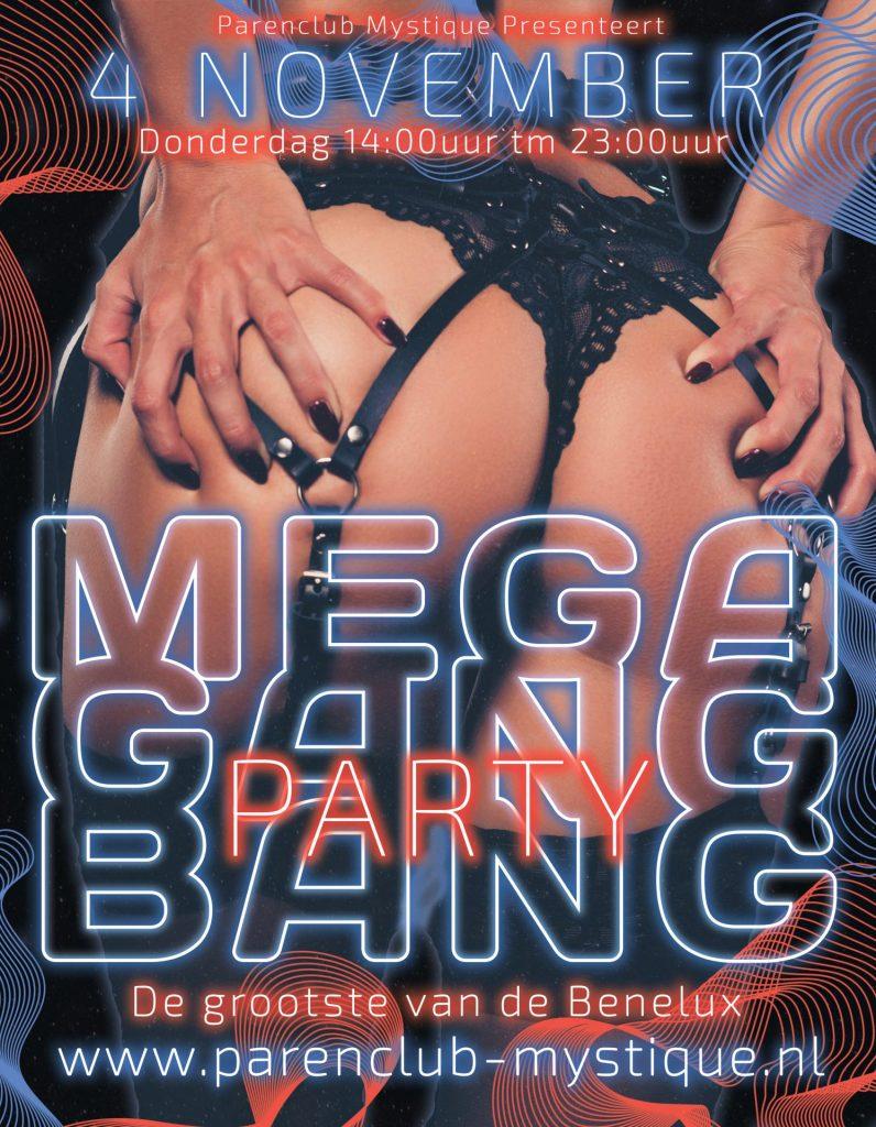 Parenclub Mystique Rucphen Mega Gangbang 04 november